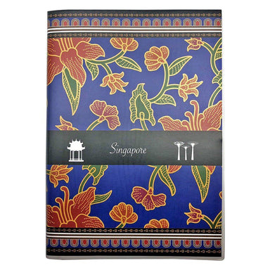 Batik Blue Notebook Local Notebooks i-Zakka
