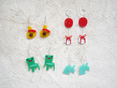 Animal Crossing Items Earrings - Earrings - Loopy Fruppy - Naiise