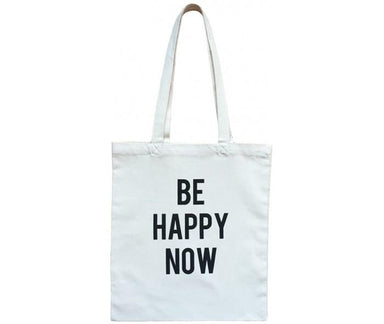 Be Happy Now Tote Bag Tote Bags Fevrier Designs