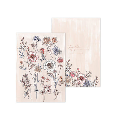 Beige Botanical Pocket Notebook - Notebooks - Typoflora - Naiise