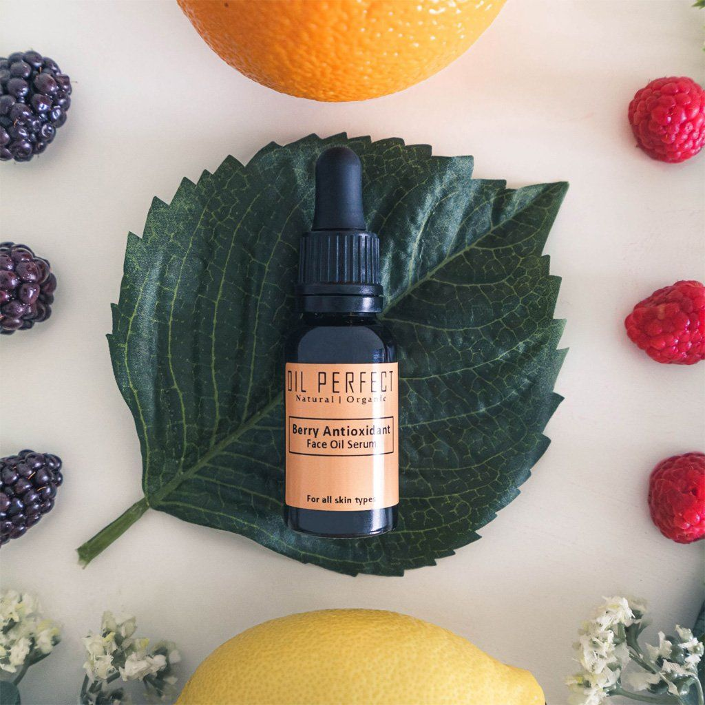 Berry Antioxidant Face Oil Serum Face Oil Oil Perfect
