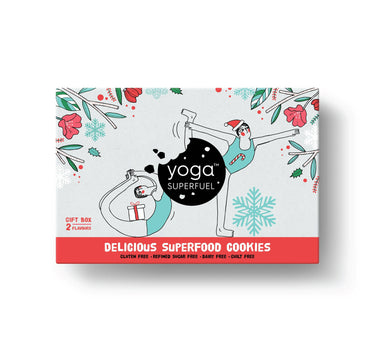 Yoga Superfuel Christmas Pack Superfood Cookies (Vegan, Gluten Free) - Cookies - Yoga Superfuel - Naiise