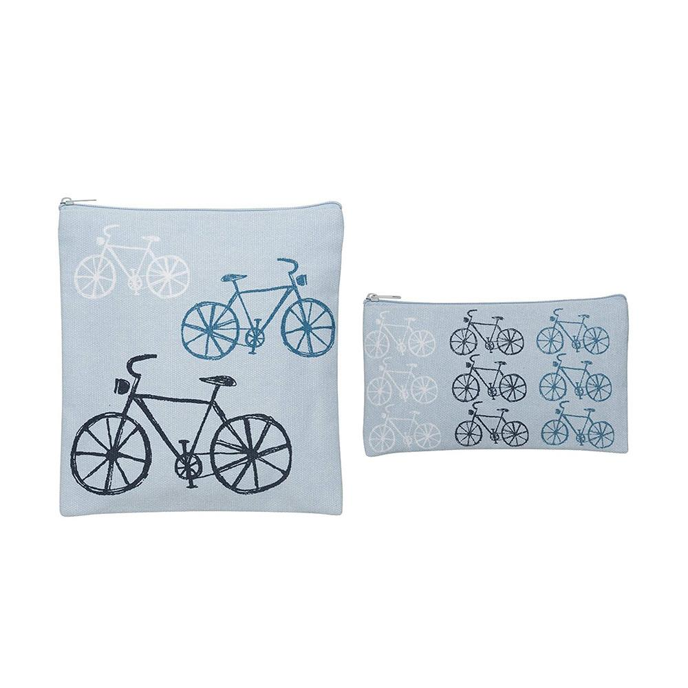 Bicycle Snack Bags (Set of 2) - Lunch Bags - Now Designs - Naiise