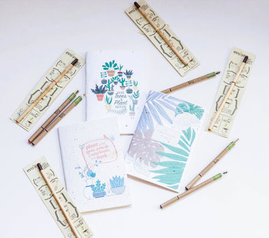 BĪJ Plantable Pen Local Stationery Left-Handesign
