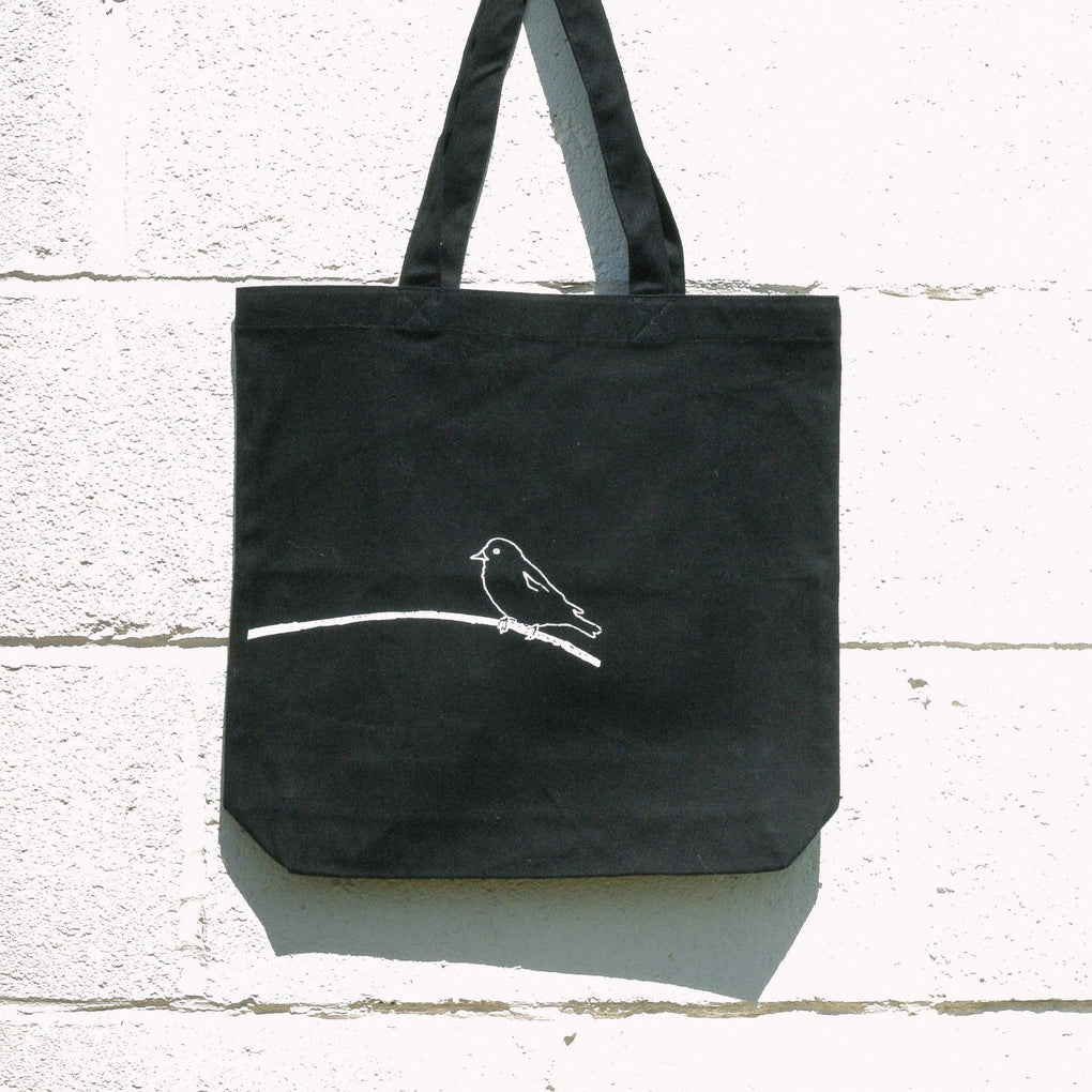 Bird and Branch Tote Bag Tote Bags B-Diff