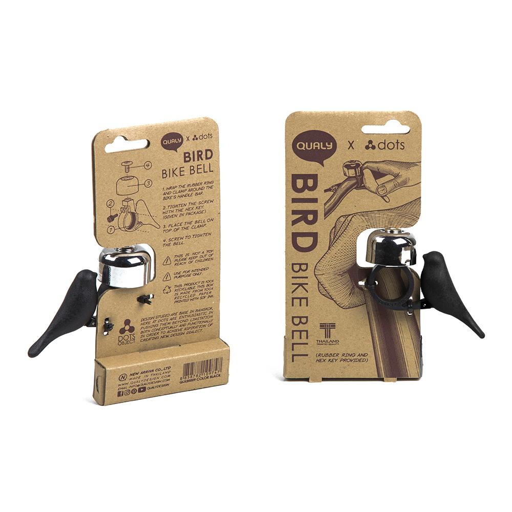 Bird Bike Bell Bicycle Accessories Qualy