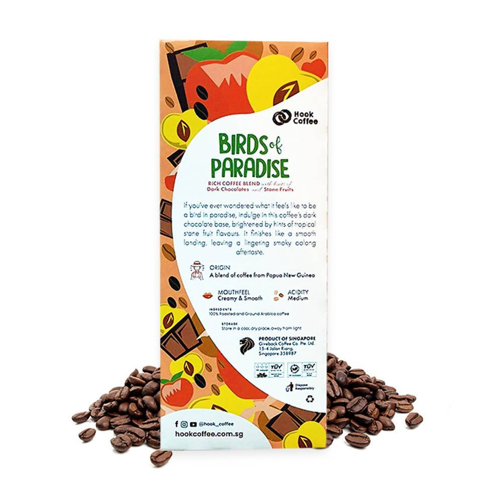 Bird of Paradise Shot Pods - Coffee - Hook Coffee - Naiise