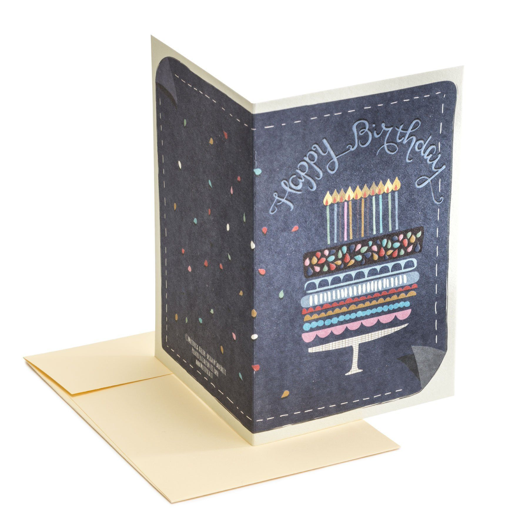 Birthday cake Greeting Card - Birthday Cards - MULTIFOLIA ATELIER di Rita Girola - Naiise