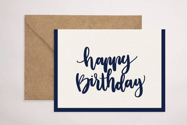 Birthday(Blue) Card Birthday Cards YOUNIVERSE DESIGN