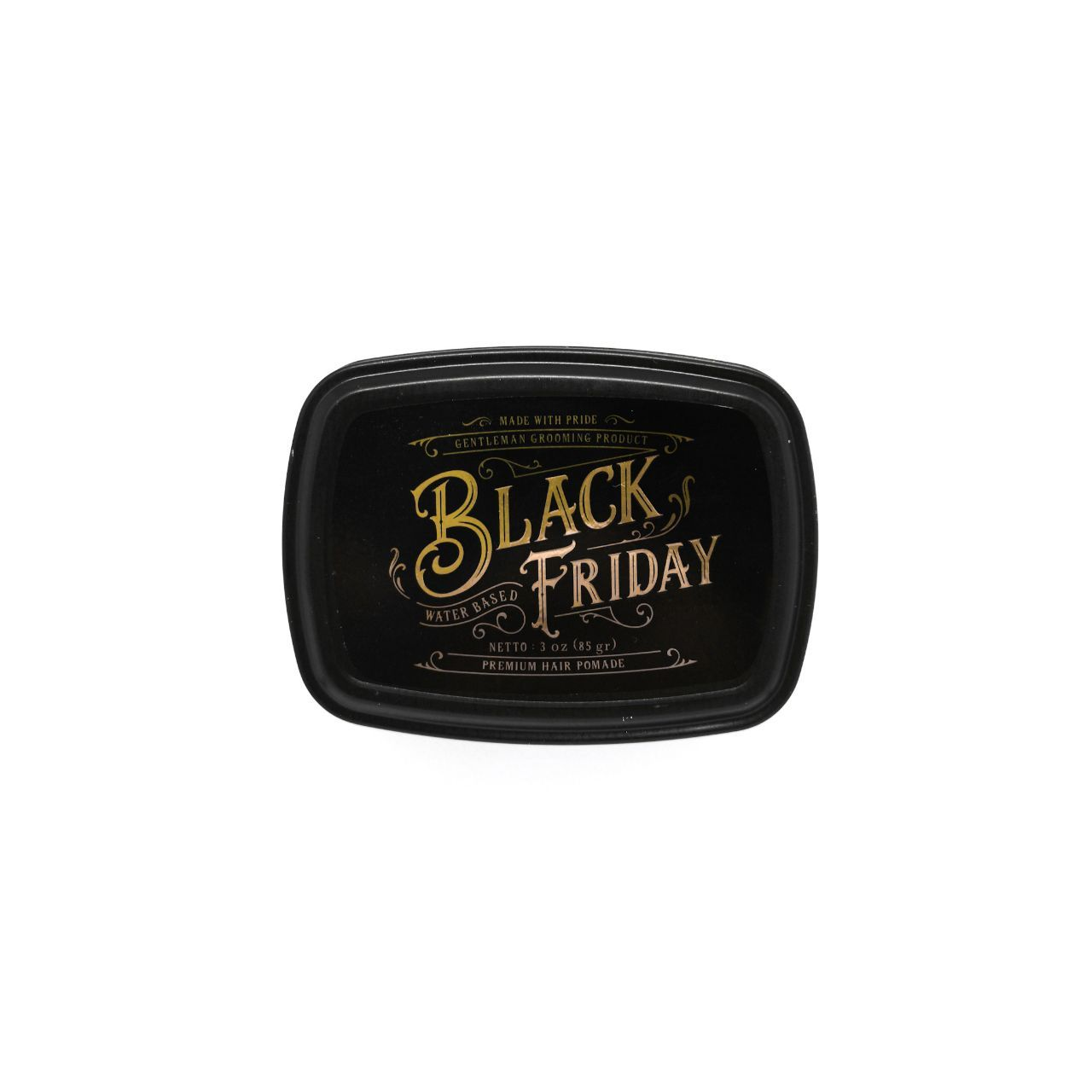 Black Friday Water Based Pomade - Pomades - Ohman! Grooming - Naiise