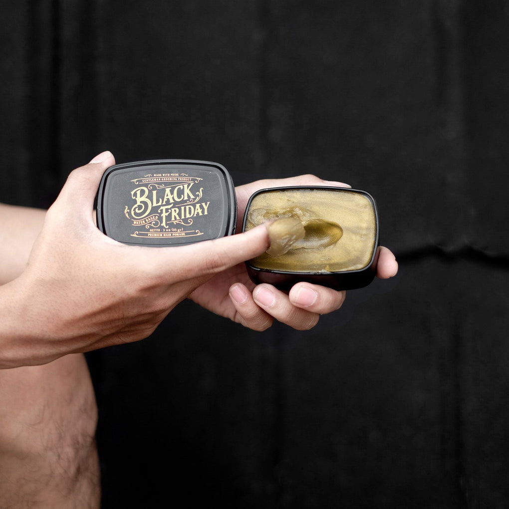 Black Friday Water Based Pomade Pomades Ohman! Grooming