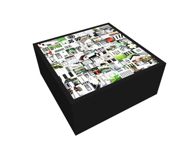 Black & White Memory Box - New Arrivals - MB Art - MemoryBoards - Naiise