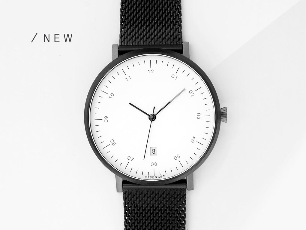 BLACK x GREY MG001 WATCH Watches MADEGREY