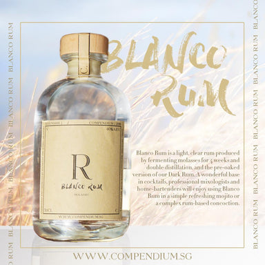 Blanco Rum Alcoholic Drinks Compendium
