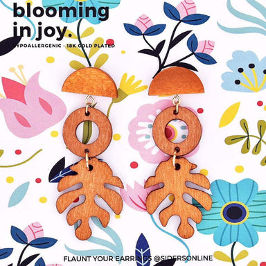 Blooming In Joy Earrings Earring Sidersonline