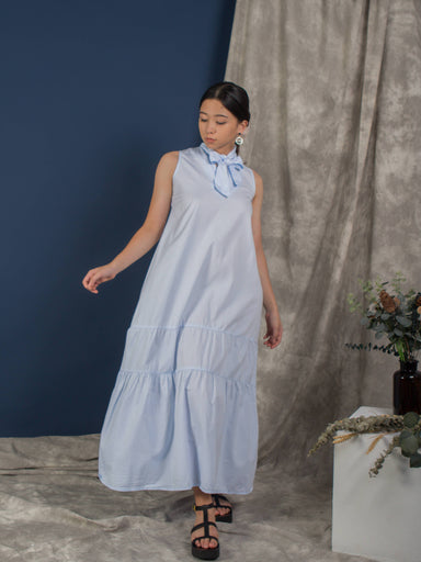 Blue Ice Trapeze Midi Dress - Dresses - Whispers & Anarchy - Naiise