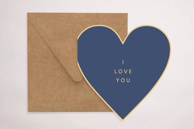 Blue Loveheart - Love Cards - YOUNIVERSE DESIGN - Naiise