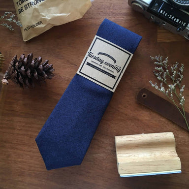 Blue Osaka Necktie - Ties - Tuesday Evening - Naiise