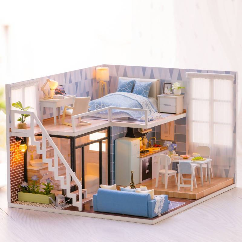 Blue Times Dollhouse - DIY Crafts - Blue Stone Craft - Naiise