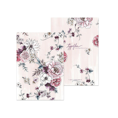 Blush Floral Pocket Notebook - Notebooks - Typoflora - Naiise
