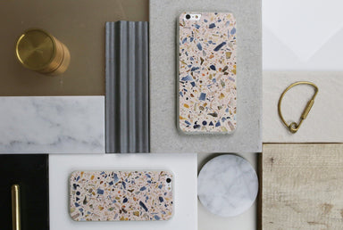 Blush Terrazzo iPhone Case - iPhone 6s - Phone Cases - FormMaker - Naiise