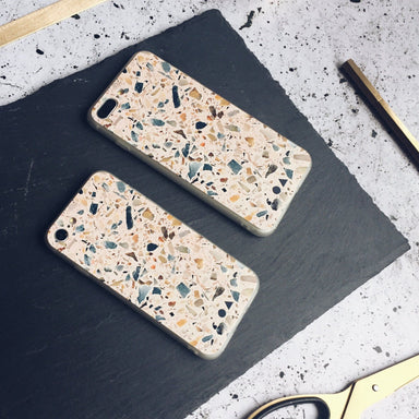 Blush Terrazzo iPhone Case - iPhone 7/8 Plus - Phone Cases - FormMaker - Naiise
