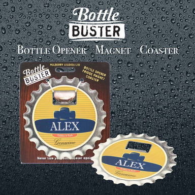 BOTTLE BUSTER - Best Bottle Opener : Alex - Bottle Openers - La Belle Collection - Naiise