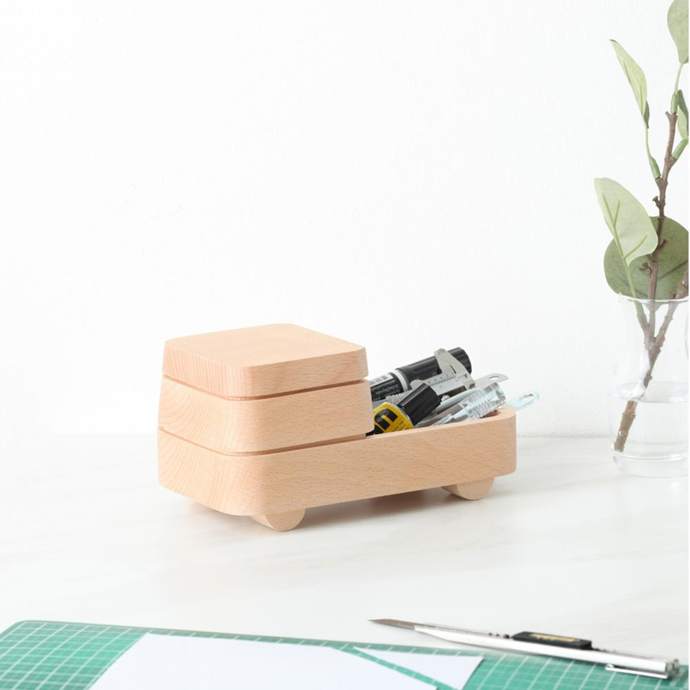 Bob: Storage Box (Beech) Desk Organisation Pana Objects