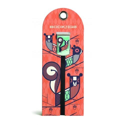 Bookjig bookmark - Abstract Animates Bookmarks Franklin Mill Authur