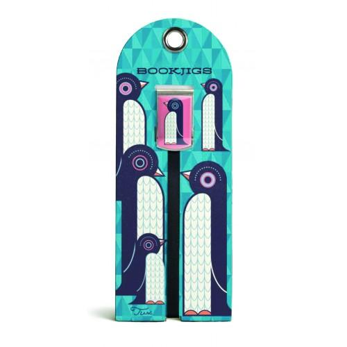 Bookjig bookmark - Abstract Animates Bookmarks Franklin Mill Tux