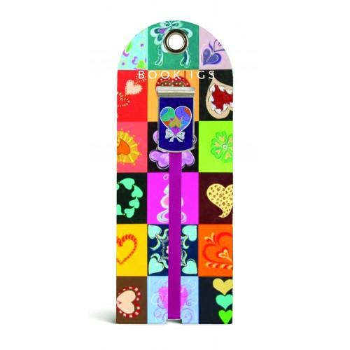 Bookjig bookmark - From the Heart Bookmarks Franklin Mill Quilted Love