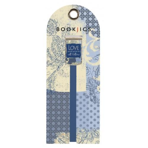 Bookjig bookmark - Life's Inspirations Bookmarks Franklin Mill Love