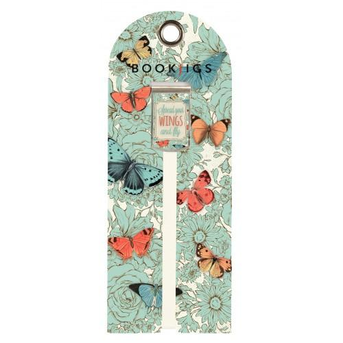Bookjig bookmark - Life's Inspirations Bookmarks Franklin Mill Wings