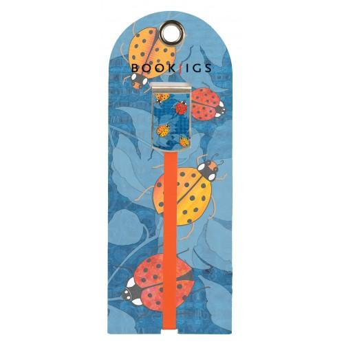 Bookjig bookmark - Wings of Destiny Bookmarks Franklin Mill Ladies on Blue
