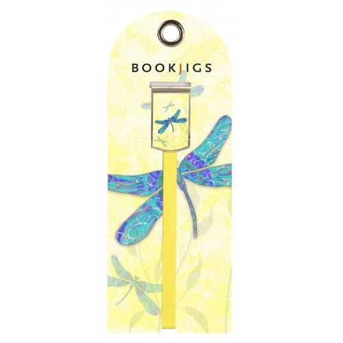 Bookjig bookmark - Wings of Destiny Bookmarks Franklin Mill Mellow Dragonfly