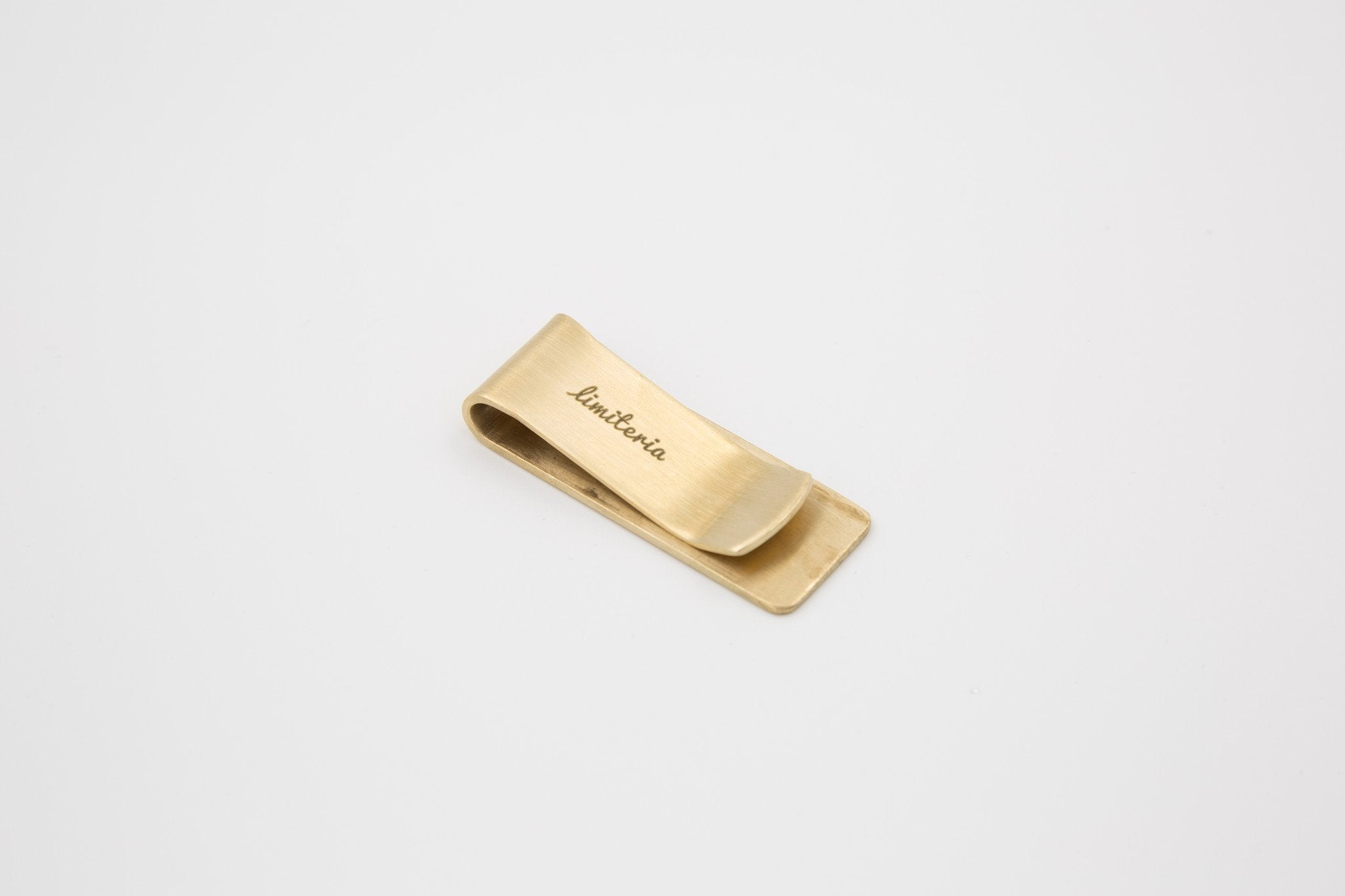 Brass Money Clip - Bold - Money Clips - Limiteria - Naiise