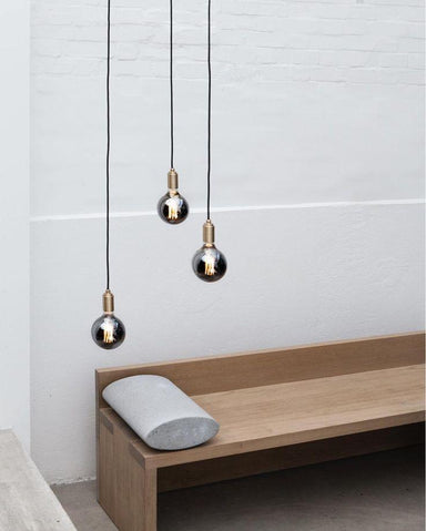 Brass Pendant Holder (Without Bulb) Lighting Tala