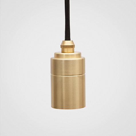 Brass Pendant Holder (Without Bulb) (Pre-Order) - Lighting - Tala - Naiise