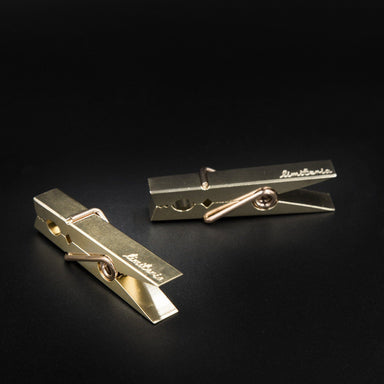 Brass Tong - Desk Card Holders - Limiteria - Naiise