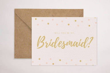 Bridesmaid Card Wedding Cards YOUNIVERSE DESIGN