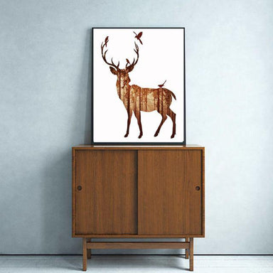 Brown Stag Canvas Canvas Prints Charlie and Skye