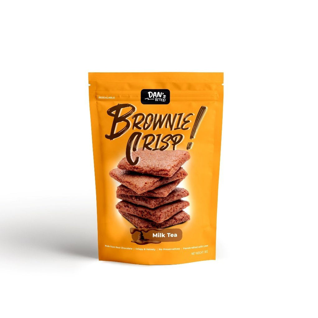 Brownie Crisp - Milk Tea Cookies Dan's Bites