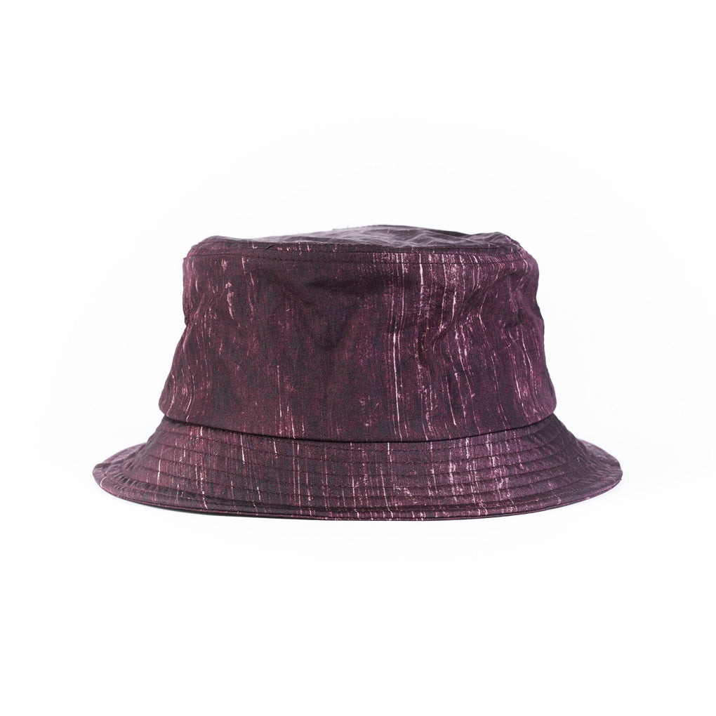 Bucket Hat Caps dōkutsu Maroon Splash