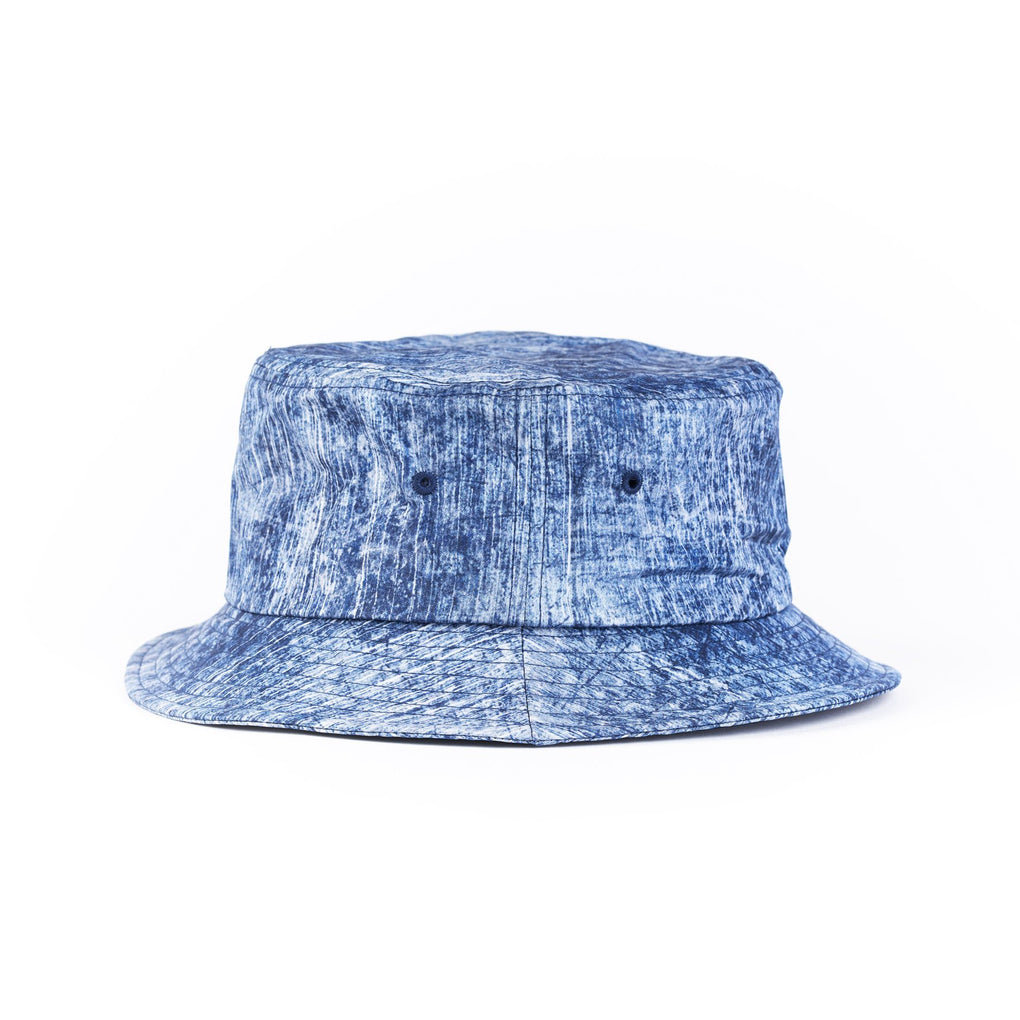 Bucket Hat Caps dōkutsu White Splash