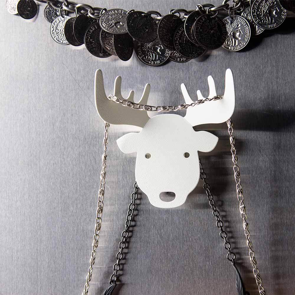 Bull, Deer and Moose Key Holder Key Holders Qualy