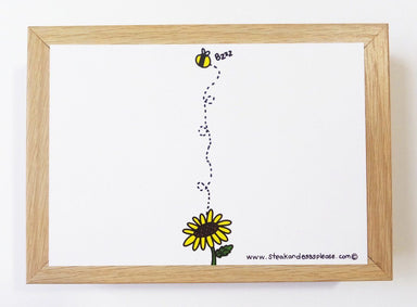 Bumblebee - You're My Bumblebee Postcard Postcards Steak & Eggs Please