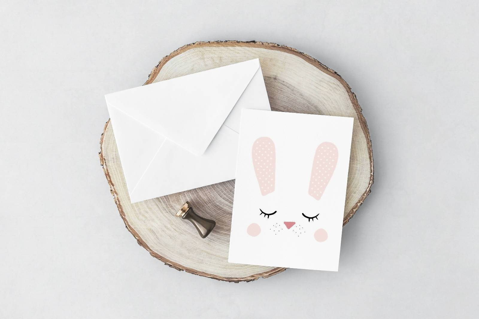 Bunny Card Generic Greeting Cards YOUNIVERSE DESIGN