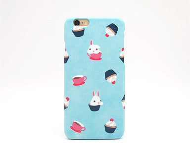 Bunny Cupcake Phone Case iPhone 7 - Phone Cases - Emaley - Naiise