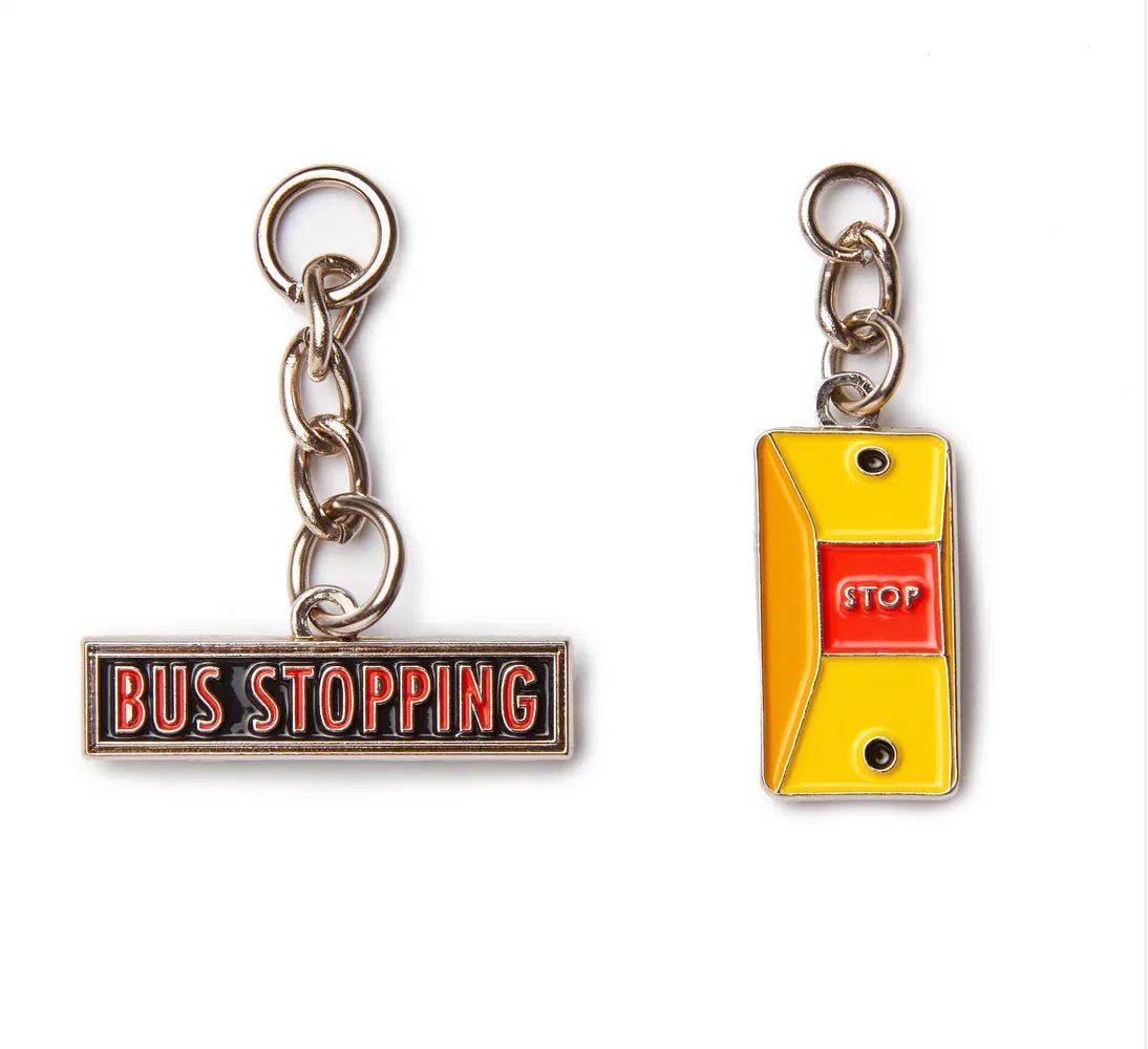 Bus Charms Local Keychains Knackstop