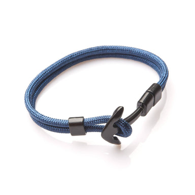 J by Jee Basic Blue Anchor Bracelet - Men's Bracelets - J By Jee - Naiise